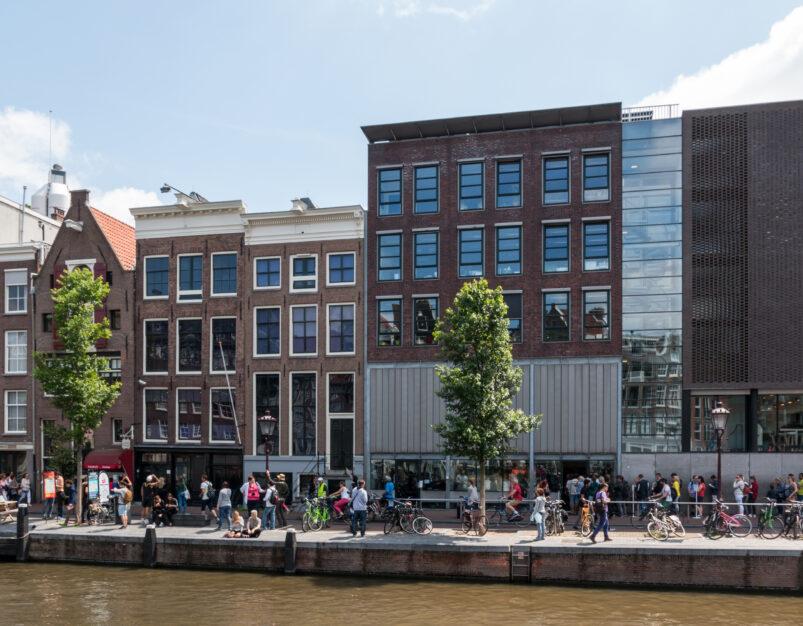 Het Anne Frank Huis in Amsterdam