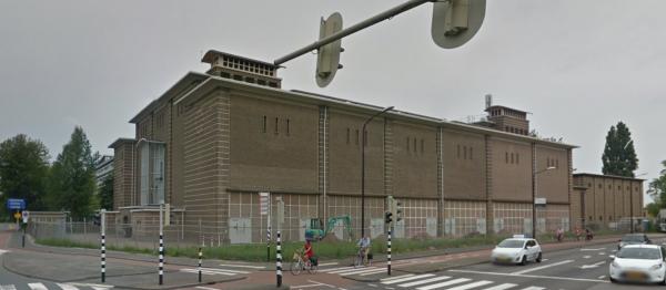 Hoogspanningsstation Noordendijk, Dordrecht Foto: Google Maps