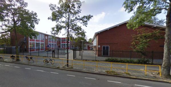 Goeman Borgesiusschool, Amsterdam Foto: Google Maps
