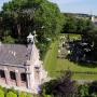 Drone-opnames van kerken. Overzicht van een trend