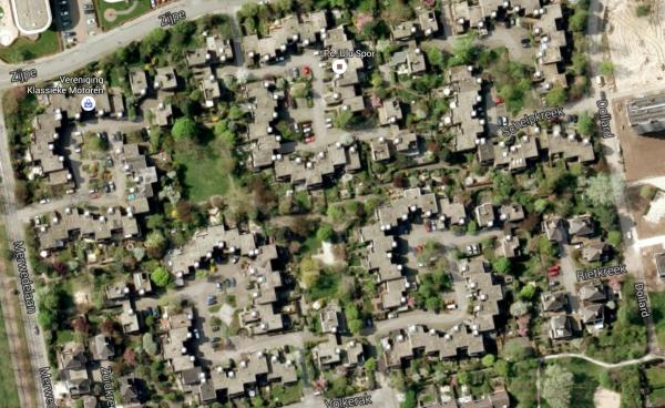 Krekenbuurt, Zwolle Foto: Google Maps