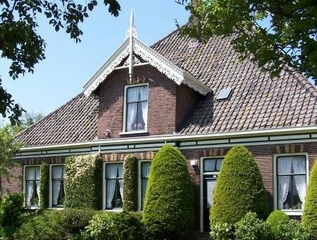 Typische stolpboerderij, Assendelft Foto: Oneindig Noord-Holland