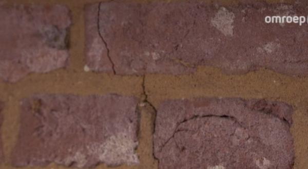 Beschadigingen door trillingen Beeld: Omroep Gld