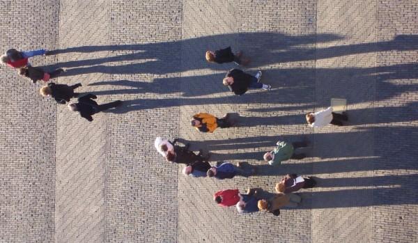 Gezicht op het plein voor de Nieuwe kerk in Delft Foto: Steven Lek via wikimedia