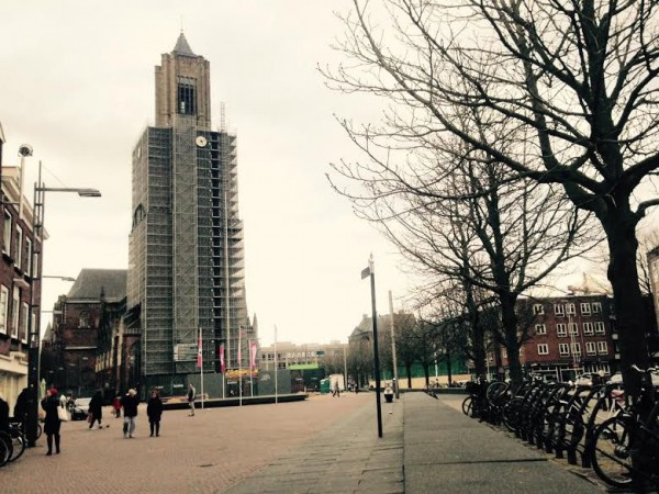 Kerkplein, Arnhem Foto via Arnhems Erfgoed