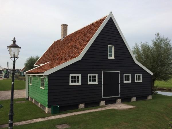 Wevershuis, Zaanse Schans Foto: Zaans Museum / Arthur van Beveren