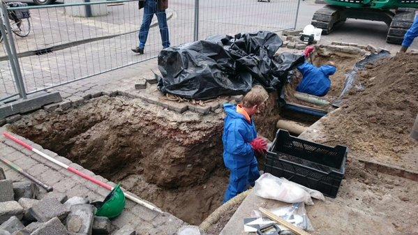 Archeologen, Arnhem Foto: Leo Smole/Gemeente Arnhem via Arnhems Erfgoed