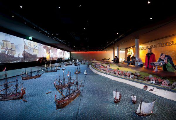 Museum Kaap Skil Reede van Texel maquette HR Foto: Thijs Wolzak