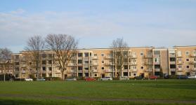 Appartementen Lessinglaan, Utrecht Foto: Gemeente Utrecht