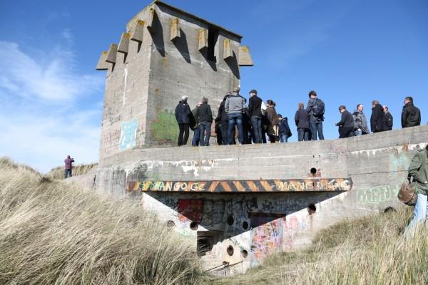 Flagruko (Flak-Gruppen-Kommandostand), Huisduinen, Den Helder foto: Kenneth Stamp