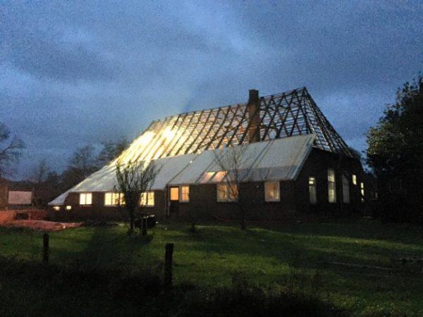 Zijaanzicht boerderij Foto via monumenten.nl