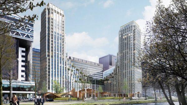 Koninging Juliana-plein, Den Haag Ontwerp torens Beeld: Synchroon/ Powerhouse Company