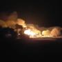 Brand verwoest monumentale boerderij in Elst (video)
