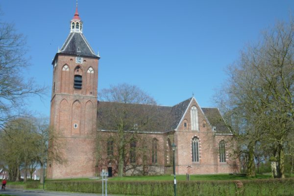De Sint-Hippolytuskerk in Middelstum