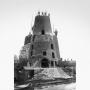 De spookachtige ruïne van molen De Kat
