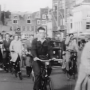 Cycling in Amsterdam, 1950
