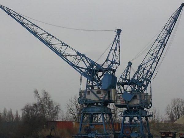 Havenkranen Groningen Foto: kranenprojekt.nl