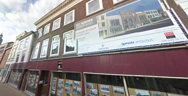 Leskipand, Hoogstraat, Vlaardingen Foto; Google Maps