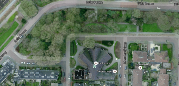 Paulusbunker, Amstelveen Foto: Google Maps