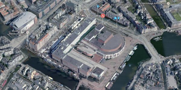 Stopera, Amsterdam Foto: Google Maps