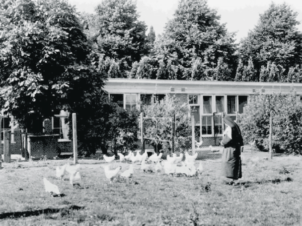 Kippenkooi, Berkel-Enschot  Foto Archief trappistinnen via heemkundekring De Kleine Meierij