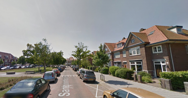 Santpoorterplein, Haarlem Noord Foto: Google Maps