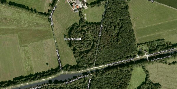 Hunenborg, Overijssel Foto: Google Maps