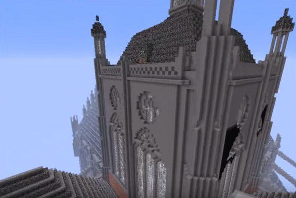 St Jan, Den Bosch, Minecraft Beeld via Youtube