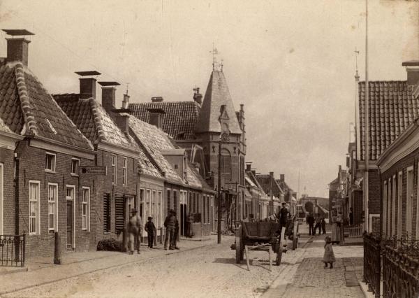 Oud Delfzijl Foto: onbekend via wikimedia