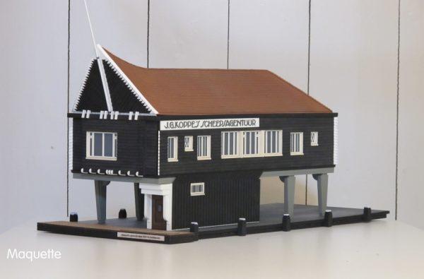 Naco-huisje, Maquette Foto: Stadsherstel