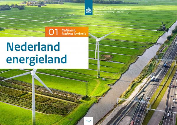 Nederland Energieland Beeld: RCE