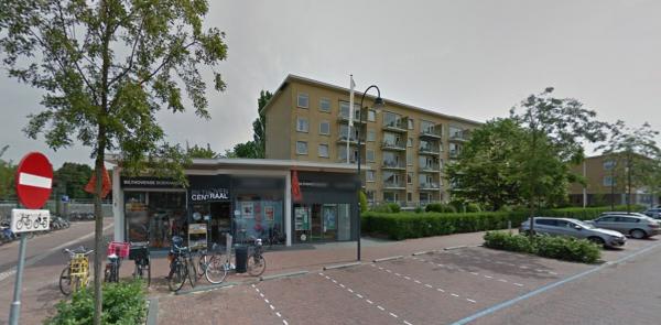 Dudokflat, Julianalaan, Bilthoven Foto: Google Maps