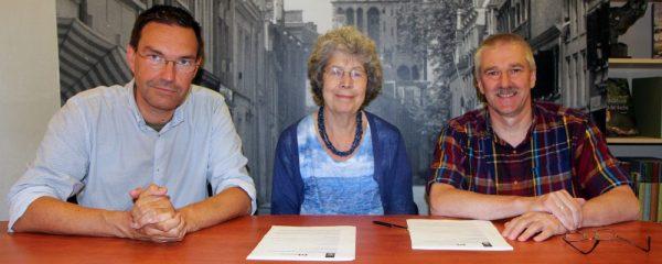 Ondertekening overeenkomst Archeologie in Nederland