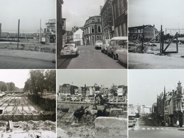 Straatbeelden Utrecht door de jaren heen Foto: Wim van de Laar