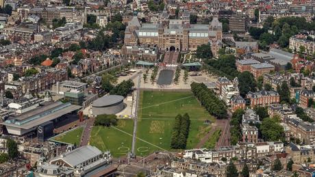 Museumplein, Amsterdam Foto: Peter Elenbaas via Gemeente Amsterdam