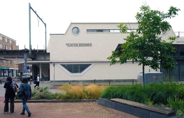 Station Bergweg, Rotterdam Foto: Arjan den Boer