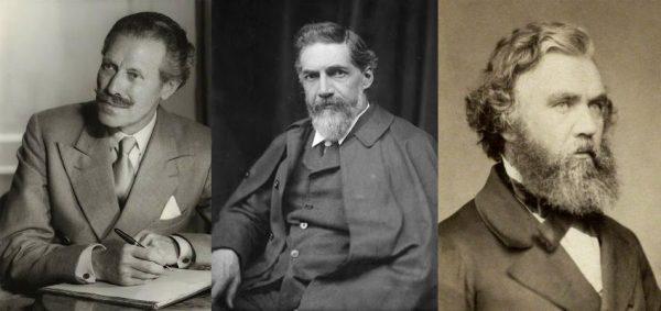 Britse 19e-eeuwse archeologen Foto via Historiek