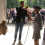Prinses Beatrix heropening Molen De Hoop