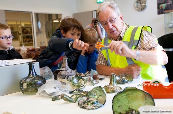 Nationale Archeologiedagen Foto: Marco Zwinkels via Nationale Archeologiedagen