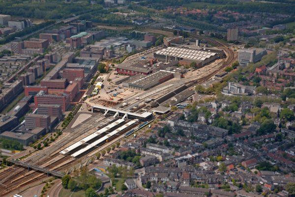 Spoorzone, Zwolle Foto via Gemeente Zwolle