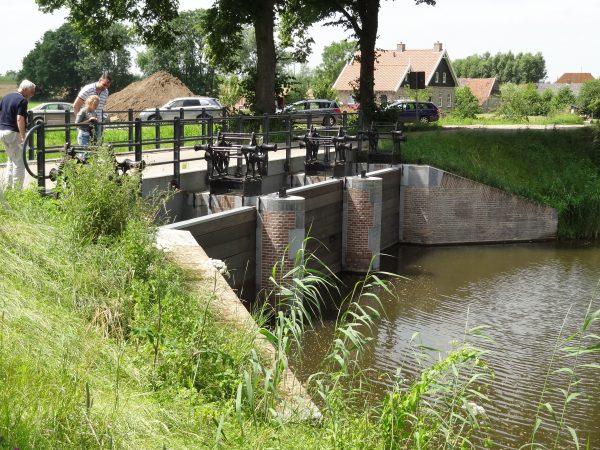 Inundatiesluis, Fort Everdingen Foto: HSSN