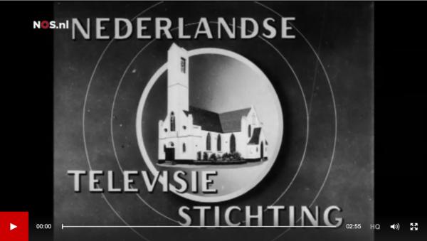 Televisie in Nederland Beeld: Polygoon via NOS