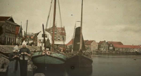 Volendam in 1912 Beeld: Stadsarcheif Amsterdam via NOS