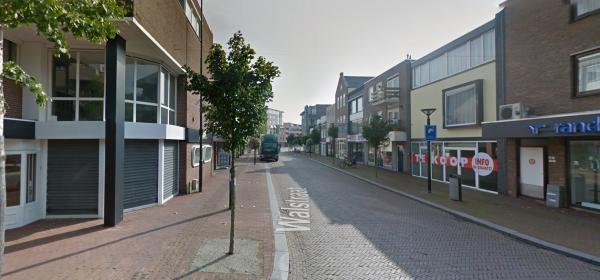 Walstraat, binnenstad, Oss Foto: Google Maps