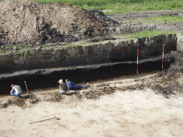 Archeologische opgraving in Overgooi Almere Beeld: Gemeente Almere
