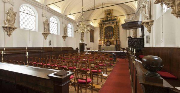 Interieur kerk Foto via NRF