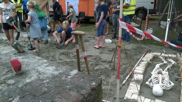 Archeologie in Breda Foto: Gemeente Breda