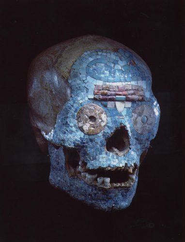 Mixteekse schedel Foto: Museum Volkenkunde