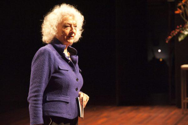 Nelleke Noordervliet tijdens het Nationaal Monumentencongres Foto: Léontine van Geffen-Lamers