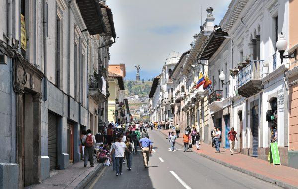 Quito, Calle Venezuela Foto: Cayambe via wikimedia
